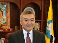 Глава Калмыкии Алексей Орлов